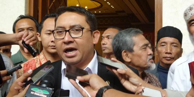 Fadli Zonk: Saya Bingung Pidato Jokowi Kok Semuanya Bagus