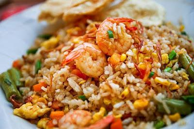 resep nasi goreng udang pedas