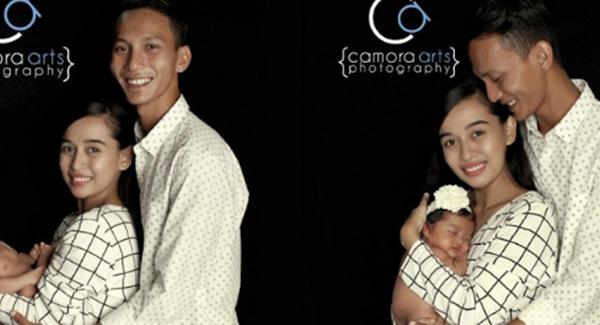 WOW! Gambar Terkini Wajah Anak Sulung Syawal & Fiqa Yang Terlajak Comel