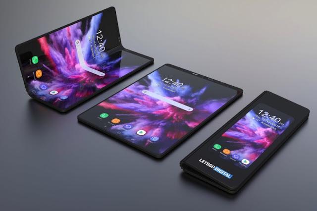 Harga Smartphone Layar Lipat Samsung Galaxy Fold