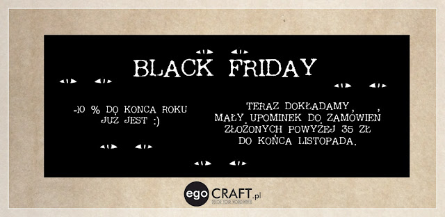 Black Friday w egoCraft.pl