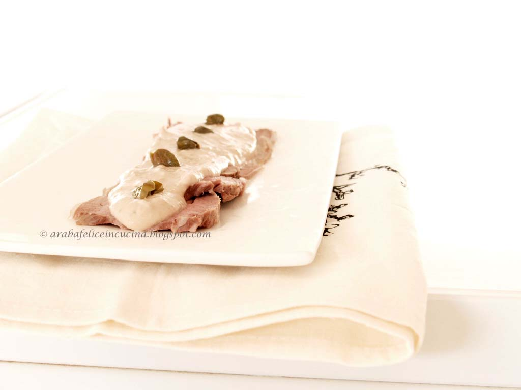 Ricetta Della Nonna Vitello Tonnato.Vitello Tonnato Arabafelice In Cucina