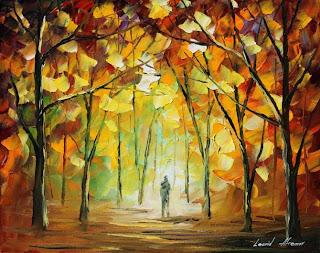 Obras de arte de Leonid Afremov y pintura al oleo