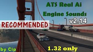 american truck simulator mods, ats mods, ats realistic mods, recommended mods ats, ats sound mods, ats ai traffic pack, ats real ai traffic engine sounds v2.14, ats volvo vnl sound