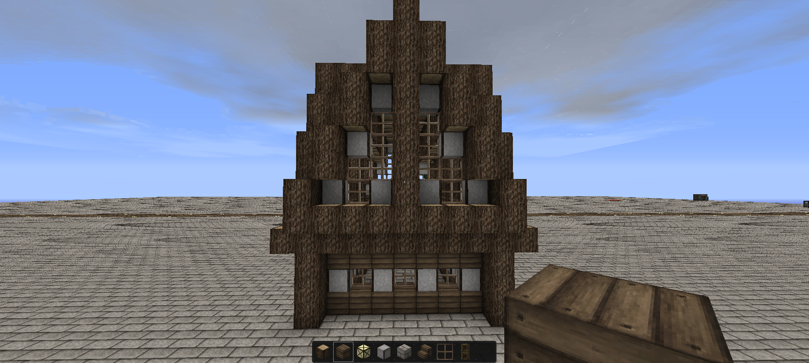 Mansion with portal in ruins. The Art Of Architecture Minecraft Tutorial Building A Viking Style House