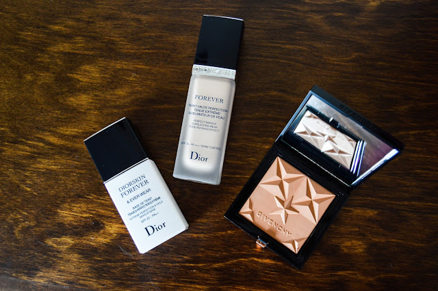 Dior Forever Primer Foundation and Givenchy Healthy Glow Powder Bronzer Haul and Review