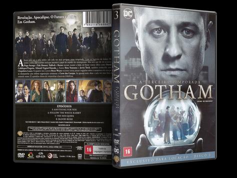 Capa DVD Gotham - Terceira Temporada - Disco 2