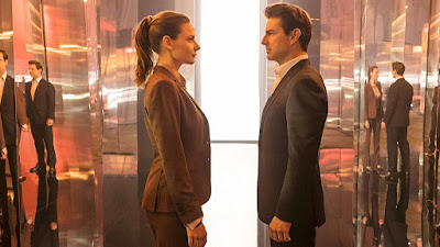 Mission: Impossible - Fallout - Tom Cruise e Rebecca Ferguson