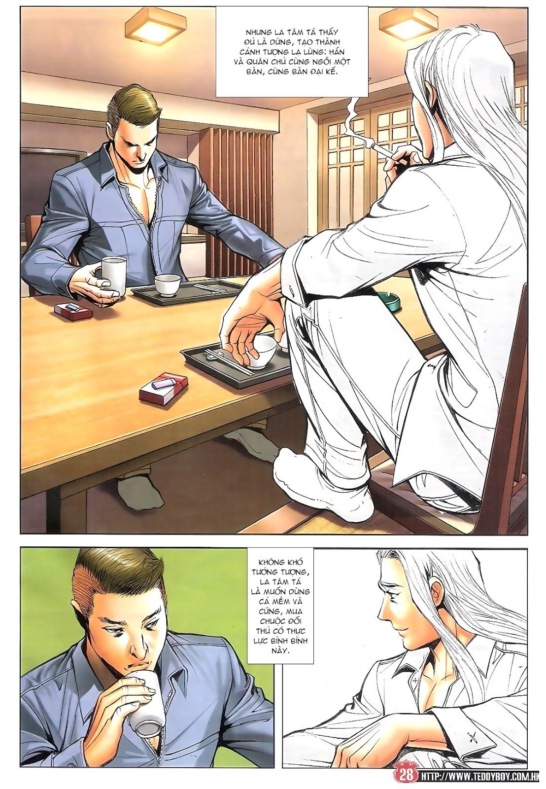 Người Trong Giang Hồ chapter 1696: giết vào vượng giác trang 27