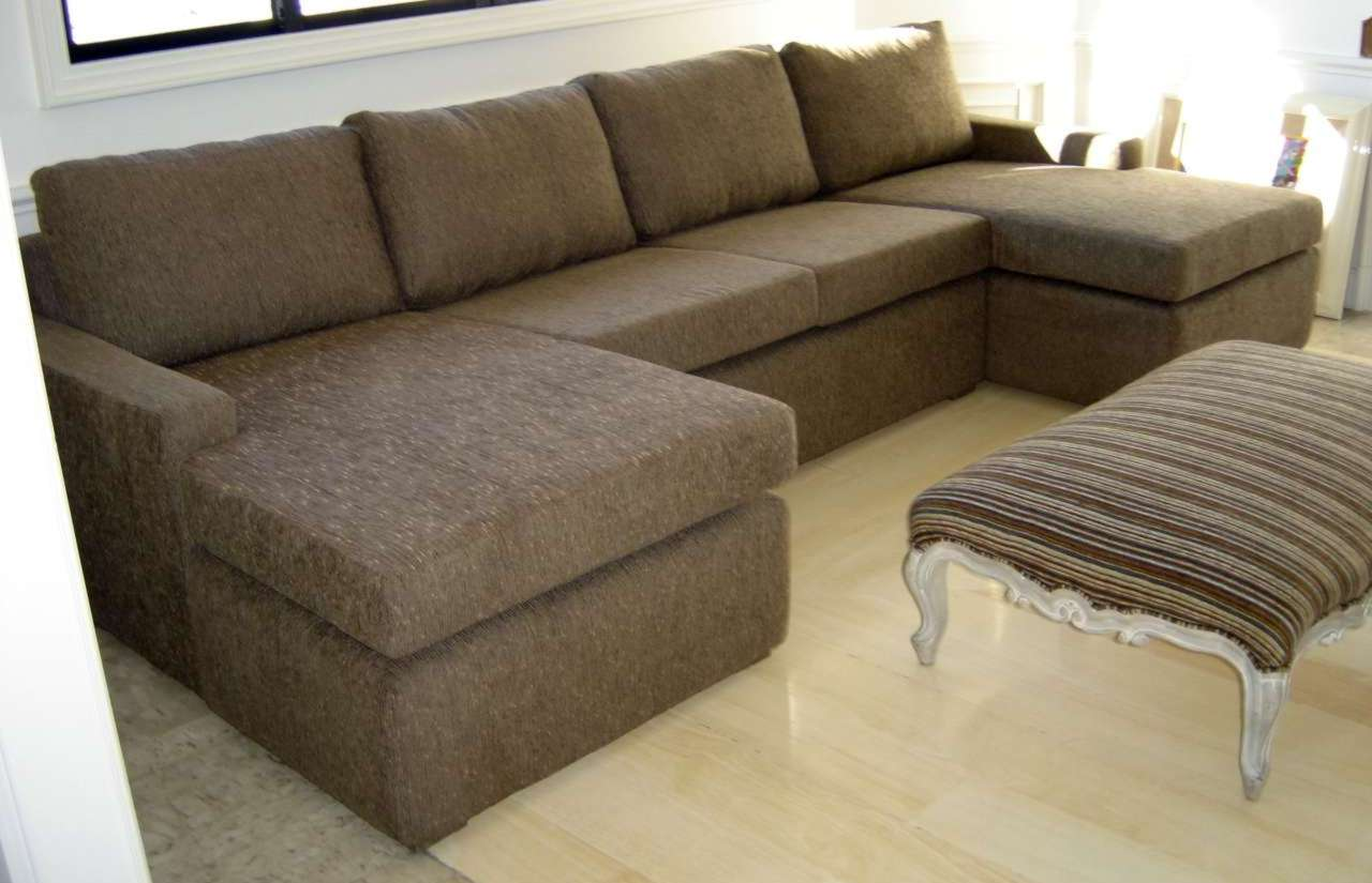 Estofactto decora o e estofaria sof com chaise for Sofas pequenos medidas