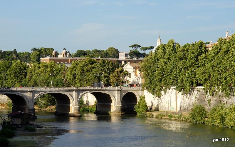 Мост Кавур, Тибр, Рим, Италия