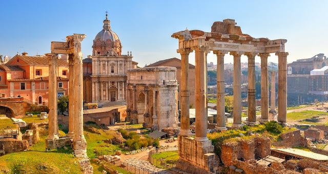 Passeios românticos em Roma