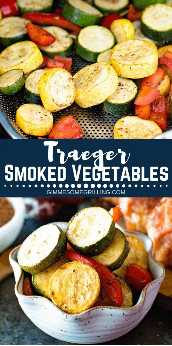 Easy Smoked Vegetables