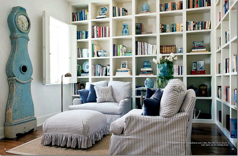 Pamela Pierce designed living room