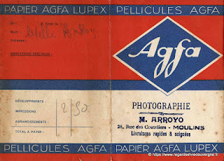 Pochette Photo.Agfa Lupex