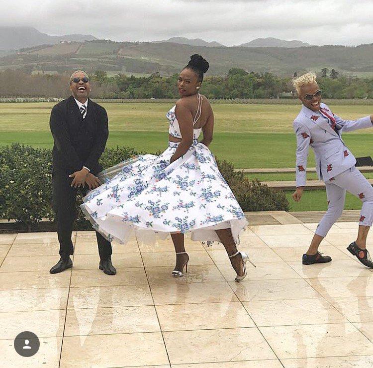 15 Mzansi Celebs Best Dresses At Minnie Dlamini And