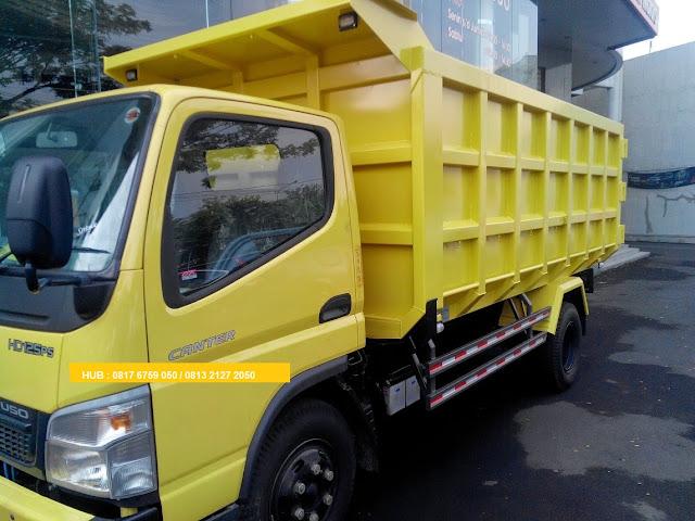 promo paket kredit dp ringan colt diesel dump truck 2019