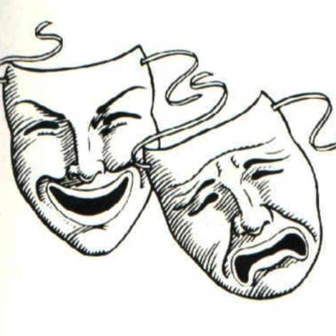Laugh Now Cry Later Mask Tattoo Designs Tattos For Men