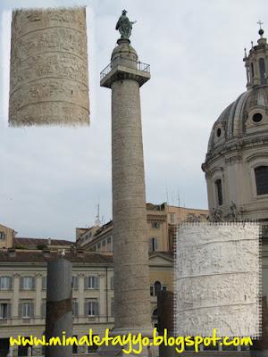 Columna de Trajano, Foros Imperiales, Roma