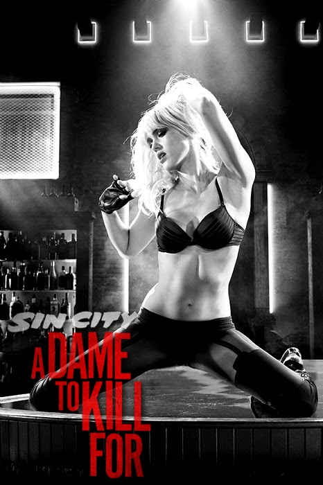 Teaser Poster pentru SIN CITY 2: A DAME TO KILL FOR - Jessica Alba