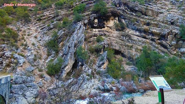 Pliegue, río Borosa, Pontones, Sierra de Cazorla, Jaén, Andalucía