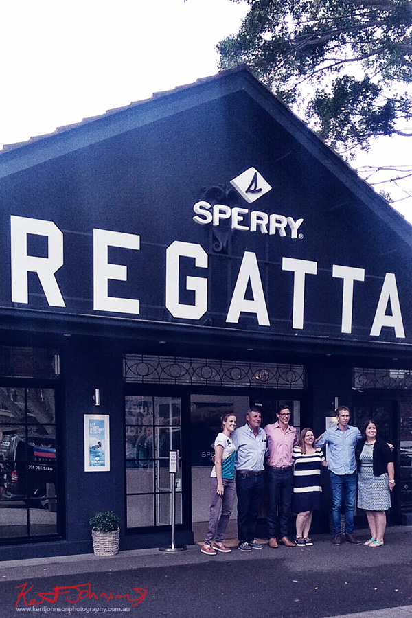 Sperry Odyssey Australia launch @ Regatta with Swimming Australia.