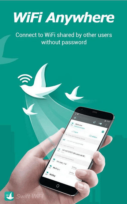 Features of swift wifi apk