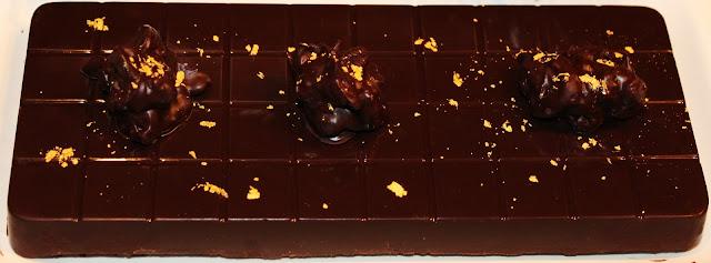 TURRÓN DE CHOCOLATE, MUESLI Y BAILEYS AL PUNTO DE SAL