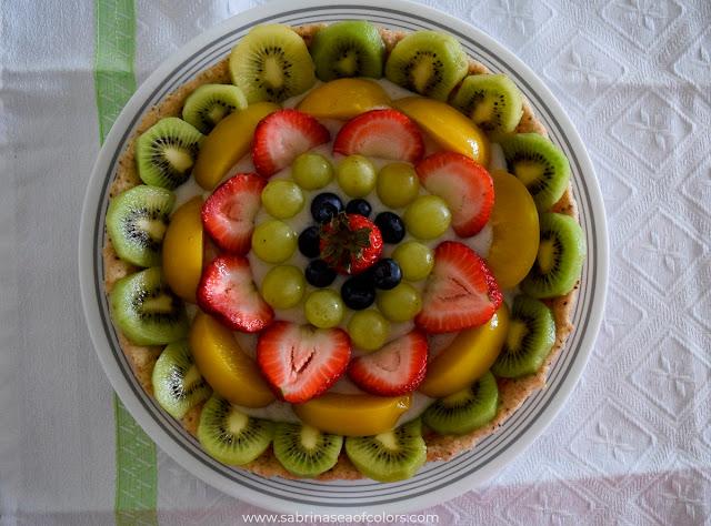 Tartaleta de frutas sin lactosa