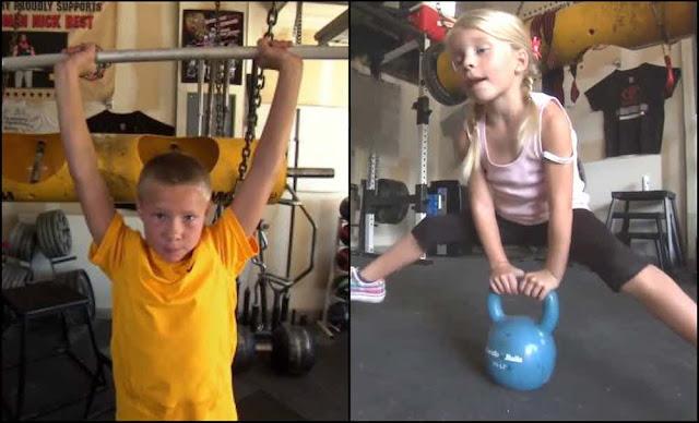 Dylan dan Jessica Best - anak kuat
