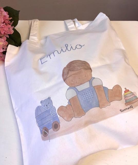 Bolsa de algodón impresa personalizada (totebag)
