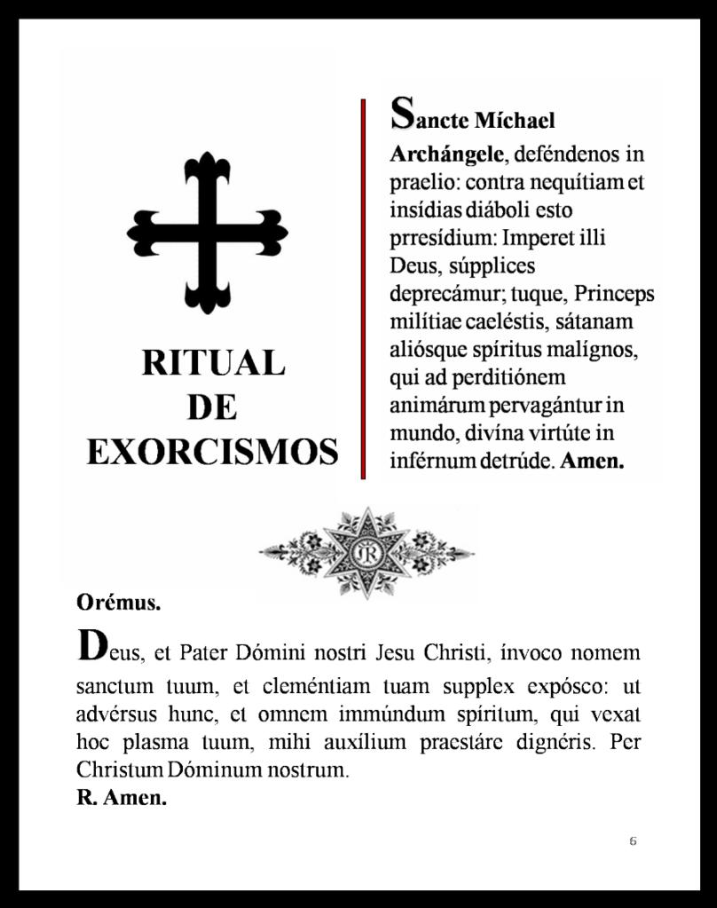 EXORCISMUS DE SAN MIGUEL ARCANGEL EBOOK