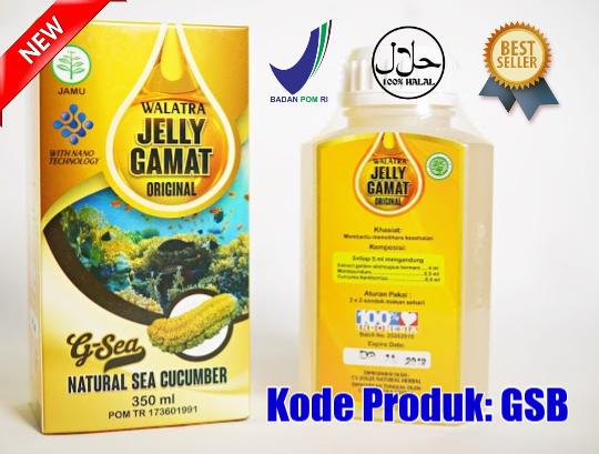 Harga dan Cara Pemesanan G-Sea Jelly Gamat Original