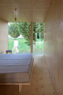 bedroom view of prefab house
