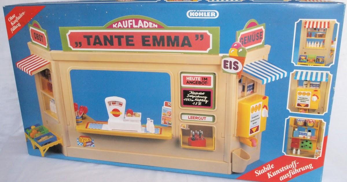 diepuppenstubensammlerin 1980er tante emma laden 1980s mom and pop grocery store. Black Bedroom Furniture Sets. Home Design Ideas