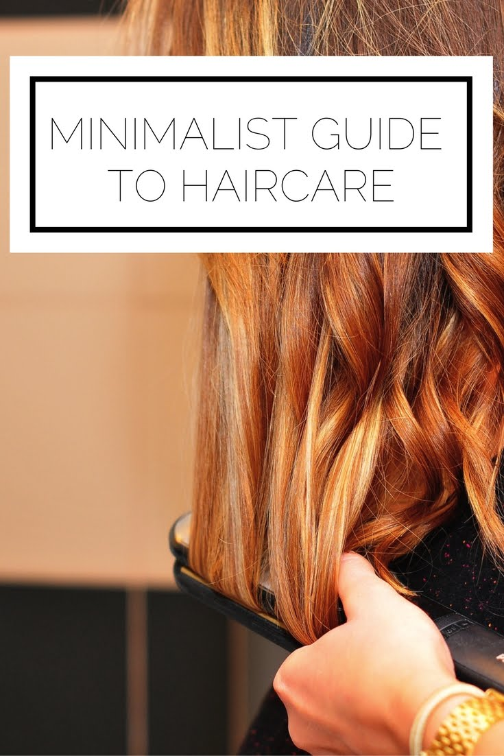 Click to read now or pin to save for later! Who wants to deal with endless maintenance and a million haircare products? No one, that's who. Here's how to take a minimalist approach to your haircare