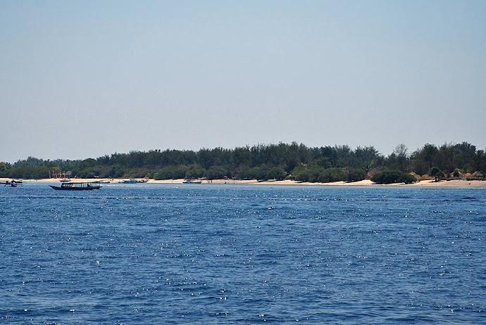 Silueta de una isla
