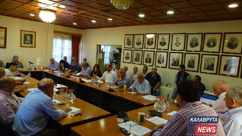 Συνεδριάζει το Δημοτικό Συμβούλιο Καλαβρύτων - Τα θέματα