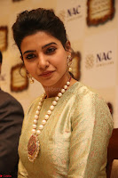 Samantha Ruth Prabhu in Cream Suit at Launch of NAC Jewelles Antique Exhibition 2.8.17 ~  Exclusive Celebrities Galleries 007.jpg