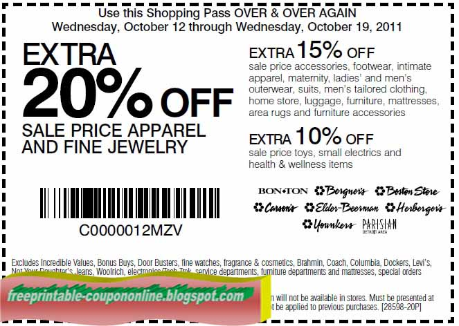 Today's best Coupons: