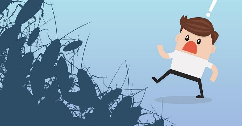 Kenapa manusia takut kecoa