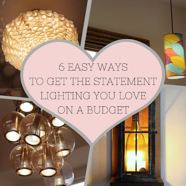 how to get the statement lighting you love on a budget