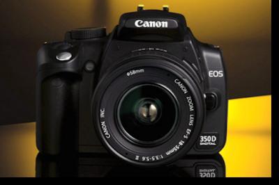 Review Harga dan Spesifikasi Kamera Canon Eos 350D