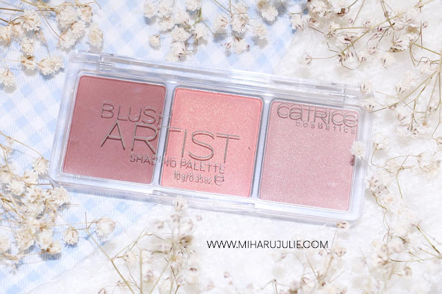 Catrice Blush Artist Shading Palettes review