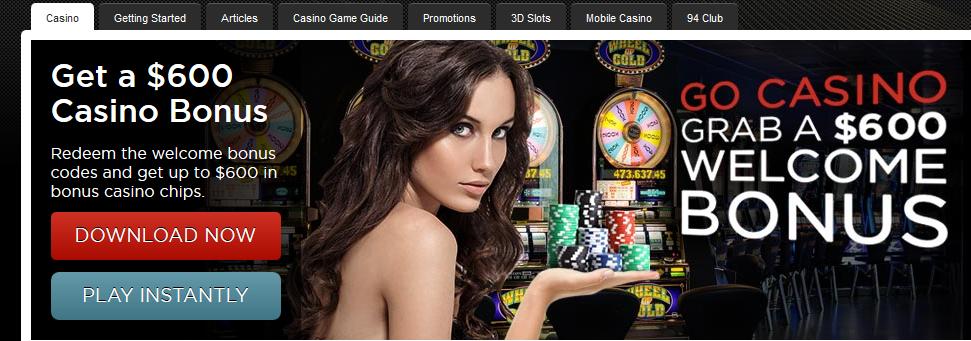 Bodog Casino 400 USD casino bonus