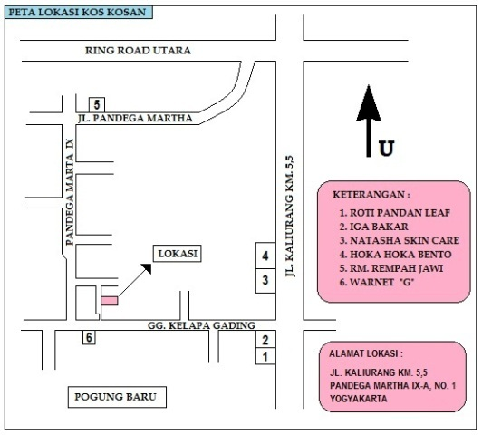 Kost murah Yogyakarta dekat UGM