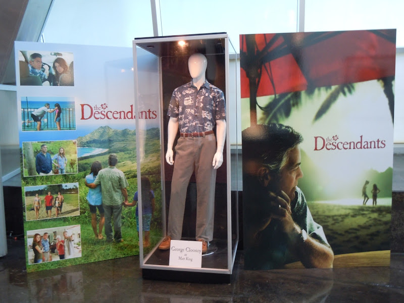 The Descendants costume display