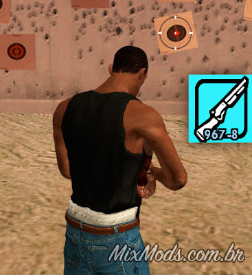 gta sa san mod shotgun reload anim recarregar fix correção