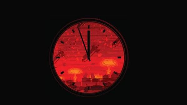 """El reloj simbólico muestra la hora más cercana al Apocalipsis. """""""