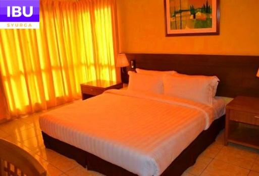 Gold Coast Melaka Resort bilik katil queen